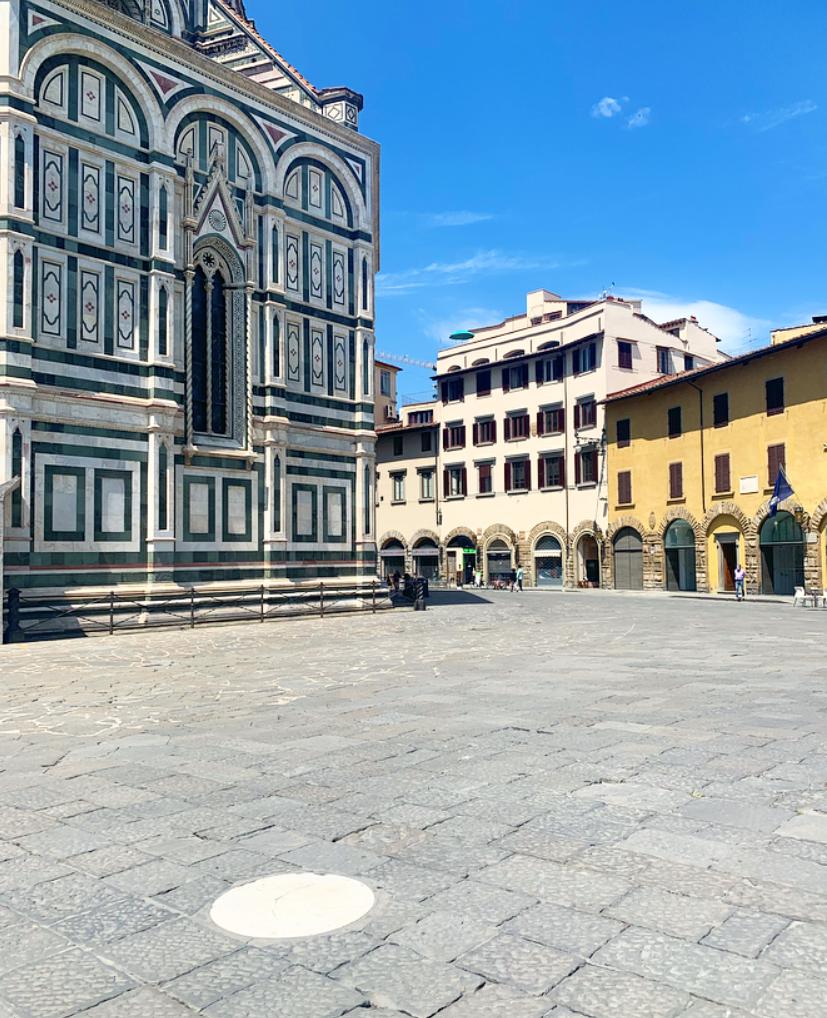 La prima caccia la tesoro a Firenze