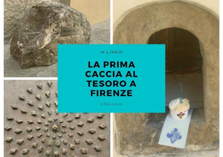 La prima caccia al tesoro a Firenze.…
